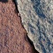 Small stones between two large stones — Stock Photo #8585684
