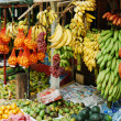 Street fruit shop in Sri-Lanka — Stock Photo