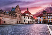Street of Prague, Czech Republic — Stock Photo