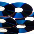 CD's stack — Stock Photo #8041236