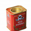 Paprika box - Stock Photo