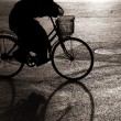Biking in bejing - Stockfoto