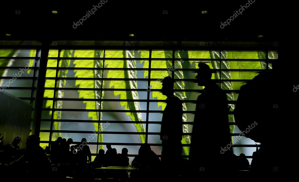 Airport in Copenhagen — Stock Photo #8306614