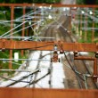 Railway infrastructure — Stockfoto