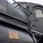 Vintage train in Sweden — Stock Photo