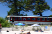 Corsica: Train Calvi to Ile Rousse — Стоковое фото
