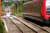 Train rouge — Photo