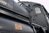 Vintage train in Sweden — Foto Stock