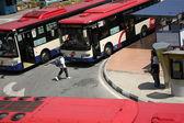 Transporte en autobús — Foto de Stock