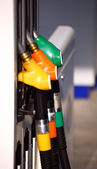 Gasoline station — Stock Photo