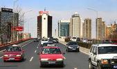 Traffic in Bejing, 2005 — Stock Photo