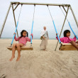Children playing — Stock Photo #8389440