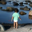 Stock Photo: Girl and water