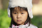 Cute child with hat — Stock Photo