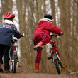Children with bike — Stock Photo #8402031