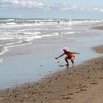 Beach activities — Stock Photo #8402331