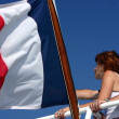 French flag — Stock Photo #8427913