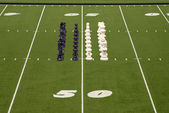 Chess Football Chess Formation — Stok fotoğraf
