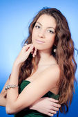 Young beautiful lady portrait — Stock Photo
