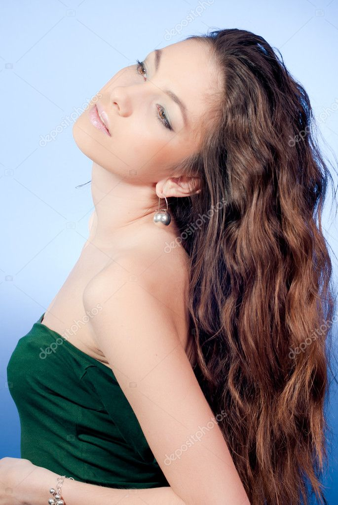 Young beautiful woman — Stock Photo #10162974