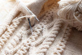 Knitting — Stock fotografie