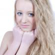 Young beautiful lady portrait  — Stockfoto
