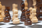 Chess on board — Stock Photo