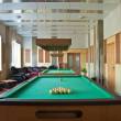 Stock Photo: Billiards room interior