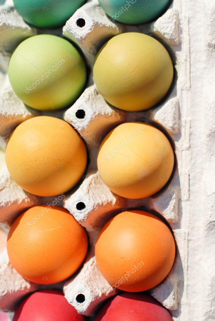 Easter colorful eggs — Stock Photo #10494042