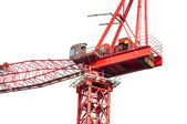 High crane close-up — Stock Photo