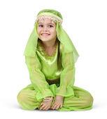 Child girl dressed arabian — Stock Photo