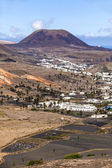 Small town of Haria in Lanzarote — Stock Photo