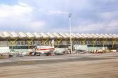Madrid, Espagne - 1 avril : iberia airbus a340-300 avion à madr — Photo