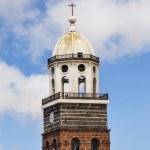 Teguise, Lanzarote, Canary Island, Church Iglesia de Nuestra Sen — Stock Photo