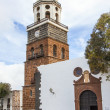 Teguise, Lanzarote, Canary Island, Church Iglesia de Nuestra Sen — Stock Photo