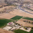 Aerial of countryside and fields around madrid — Stock Photo #10421013