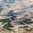 Aerial of countryside and fields around madrid — Stock Photo #10421803