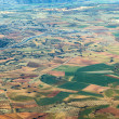 Aerial of countryside and fields around madrid — Stock Photo #10422978