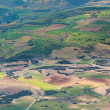 Aerial of countryside and fields around madrid - Foto de Stock