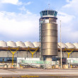 Tower at Terminal 4 at Barajay Airport — Stok fotoğraf