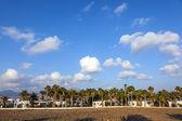 Typical urbanisation resorts in Lanzarote — Stock Photo