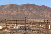 Nové silnice pro oblast rozvoje v lanzarote — Stock fotografie