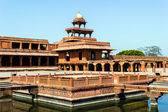Fatehpur Sikri, India, built by the great Mughal emperor, Akbar — Stock Photo
