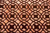 Dekorace v fatehpur sikri, indie — Stock fotografie
