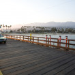 Scenic pier in Santa Barbara — Stock Photo