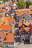 Cityview of old historic town of Oberursel, Germany. — Stock Photo