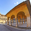 Stock Photo: Famous Amber Fort in Jaipur