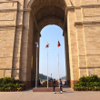 Stock Photo: Famous indigate in Delhi