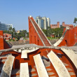 Astronomical observatory Jantar Mantar in Delhi - Stock Photo