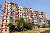 Mehrfamilienhaus zentrum delhi in der nähe des connaught place — Stockfoto